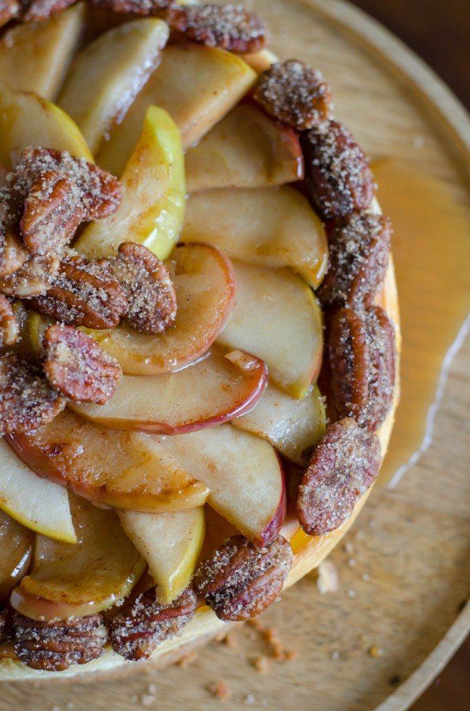 Caramel Apple Cheesecake | Go Go Go Gourmet @gogogogourmet