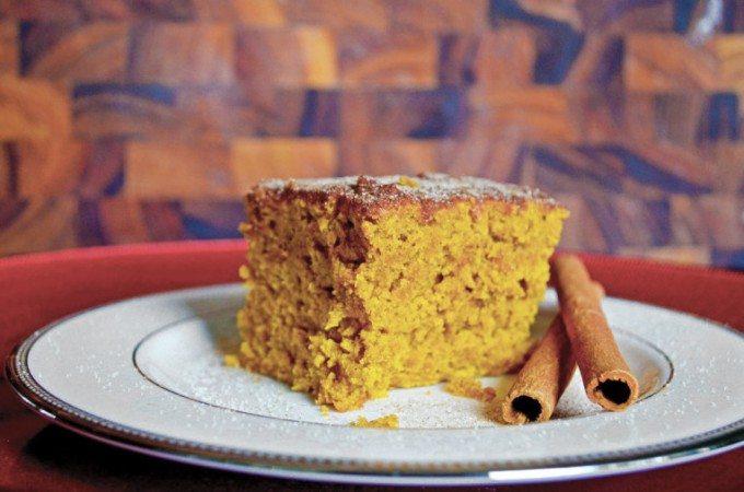 Pumpkin Snack Cake   Go Go Go Gourmet @gogogogourmet