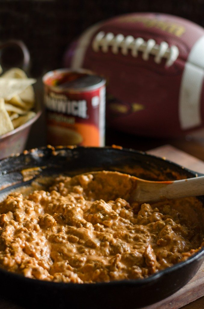Spicy Sloppy Joe Dip | Go Go Go Gourmet