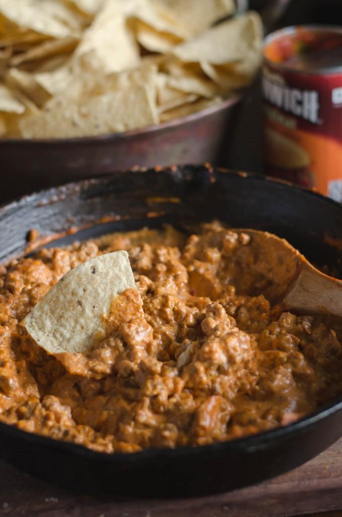 Spicy Sloppy Joe Dip | Go Go Go Gourmet