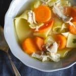 Homestyle Chicken Noodle Soup   Go Go Go Gourmet @gogogogourmet