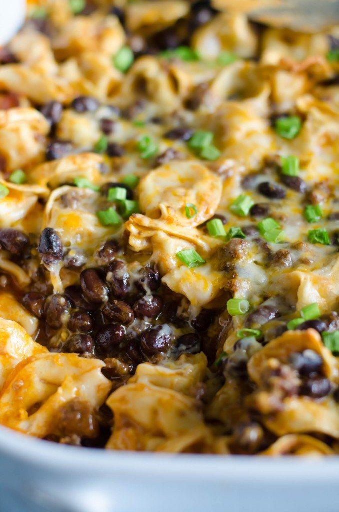 Cheesy Enchilada Mexican Pasta Bake | Go Go Go Gourmet @gogogogourmet