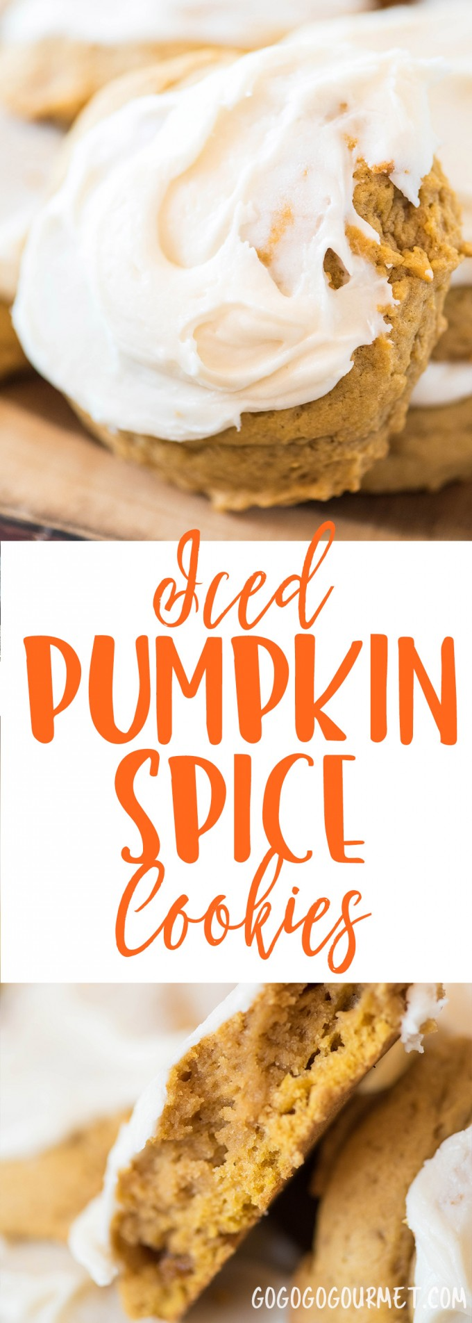 These Iced Pumpkin Spice Cookies are the perfect way to celebrate fall. They are cake-like, full of fall flavor and topped with a creamy frosting. A fall staple for years! |