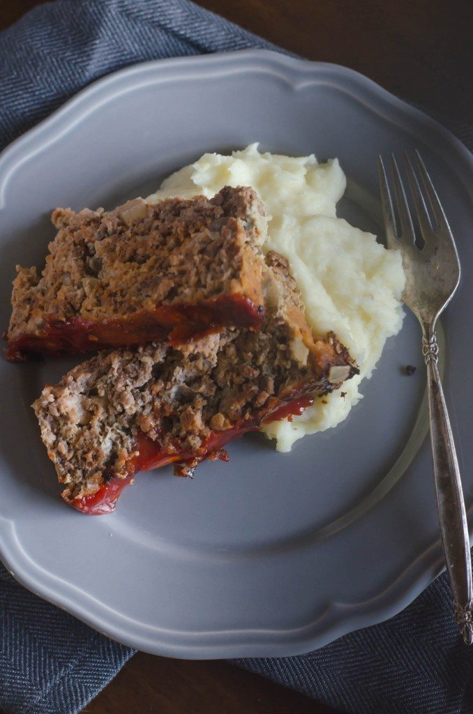 Homestyle Meatloaf with Ketchup | Go Go Go Gourmet @gogogogourmet