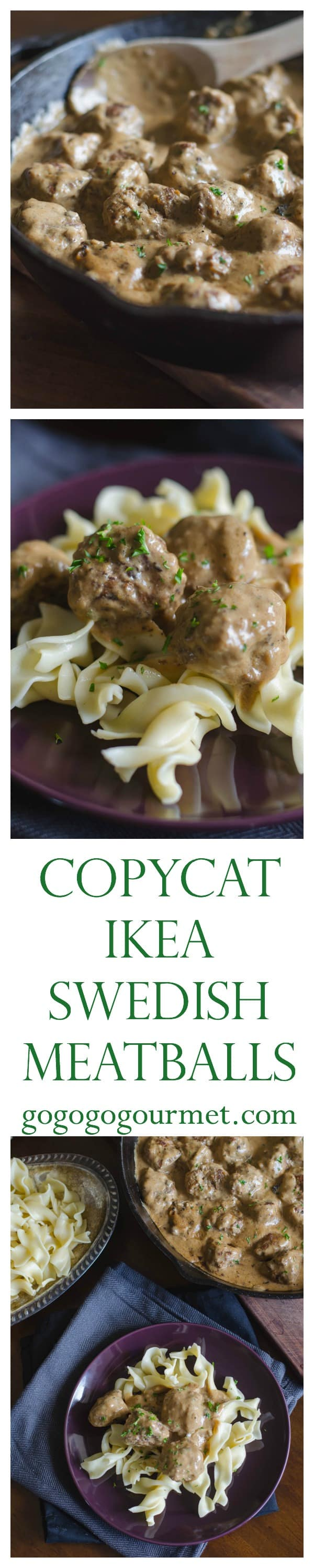 This Ikea Swedish Meatballs recipe is a dead ringer for the tender little meatballs in delicious gravy at Ikea. They might be even better at home! |