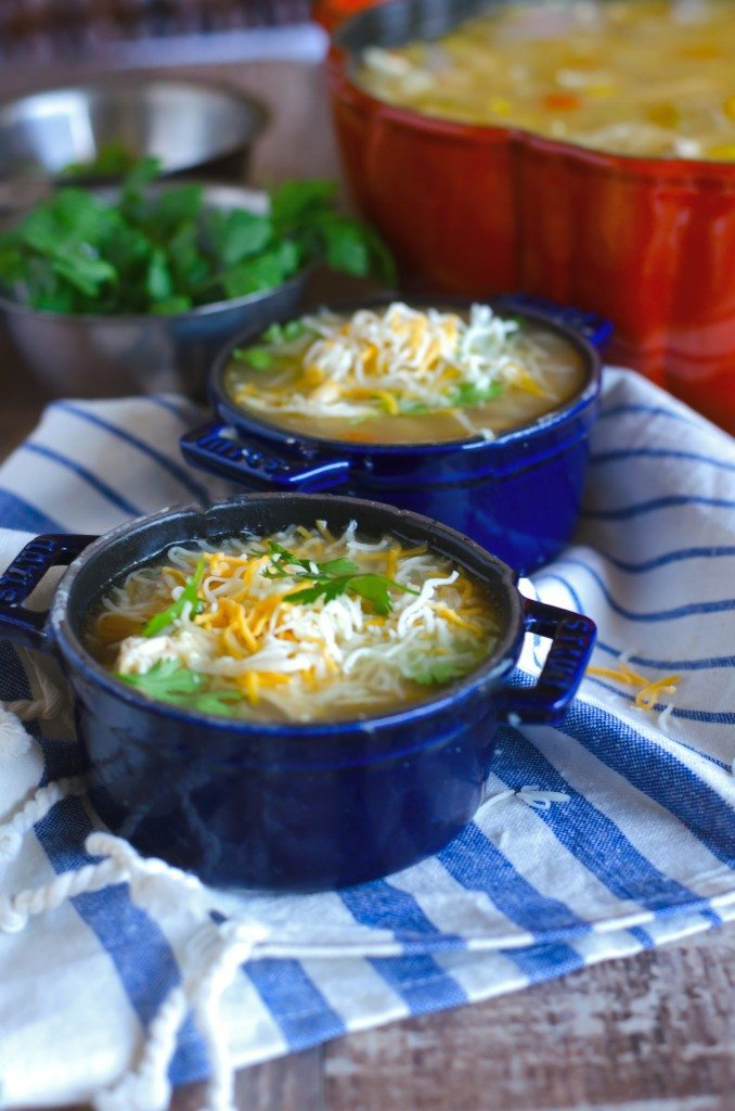 Slow Cooker White Chicken Chili | Go Go Go Gourmet @gogogogourmet