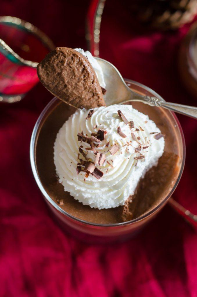 Dark Chocolate Mousse Recipe   @gogogogourmet