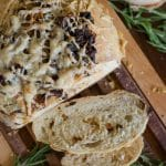 Rosemary and Caramelized Onion Olive Oil Crusty Bread | Go Go Go Gourmet @gogogogourmet