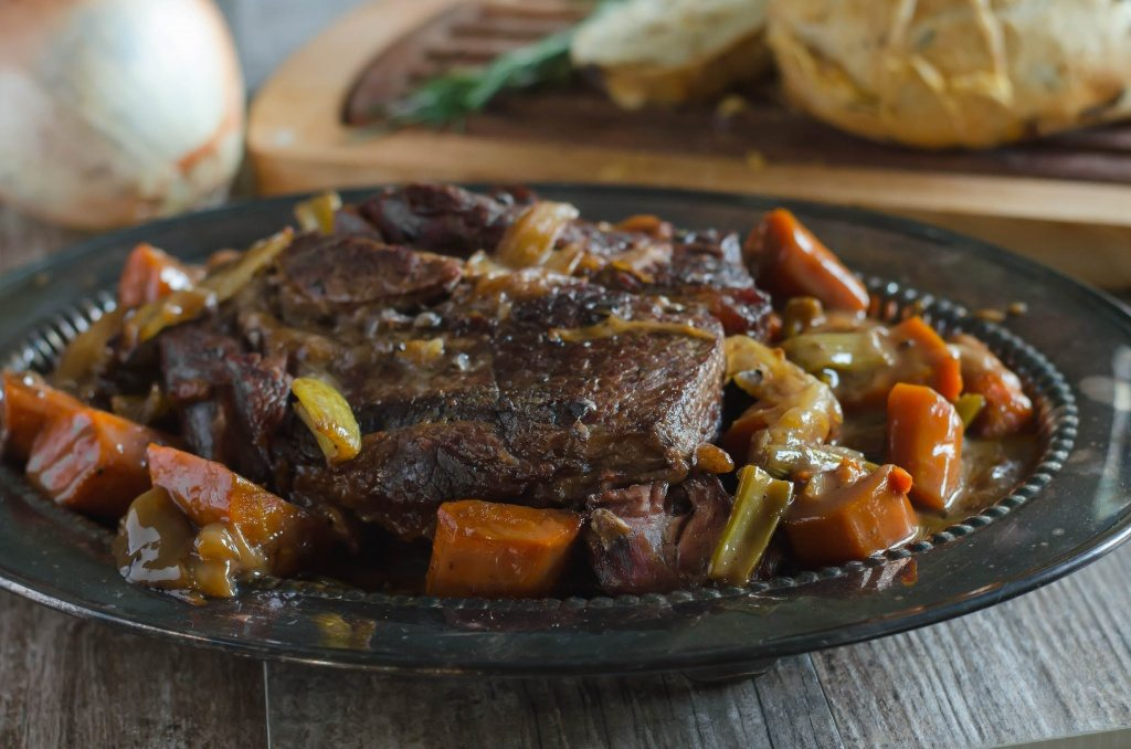 Tender Pot Roast Recipe | Go Go Go Gourmet @gogogogourmet