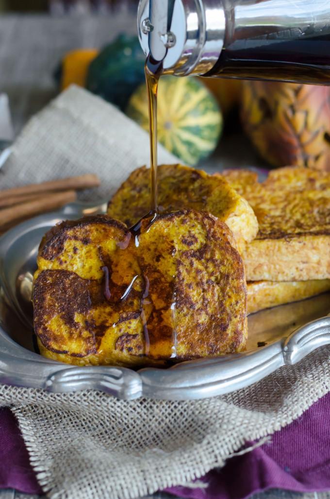 Pumpkin French Toast | Go Go Go Gourmet @gogogogourmet