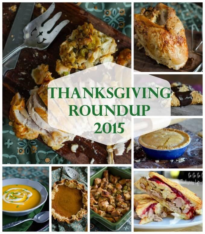 Thanksgiving Recipes Roundup for 2015   Go Go Go Gourmet @gogogogourmet