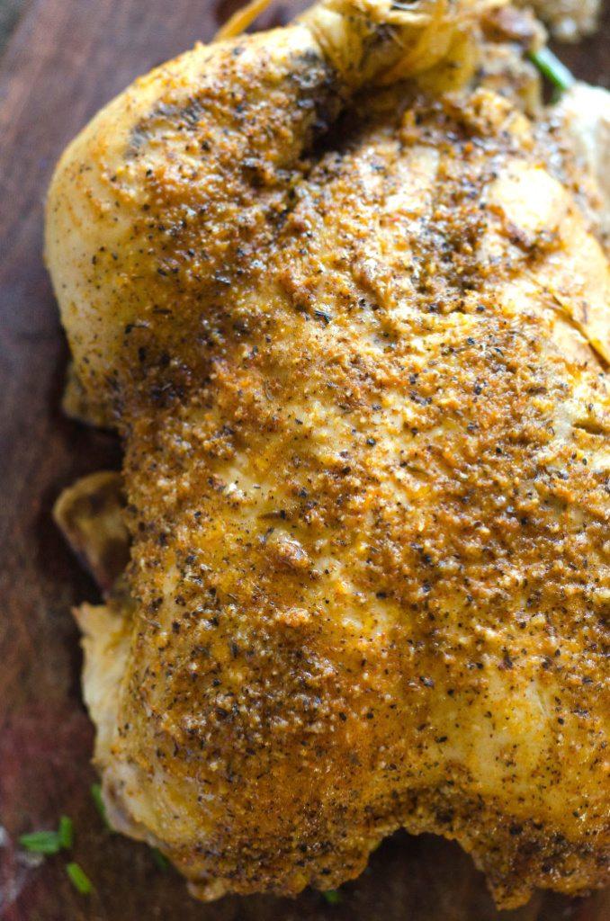 Crockpot Rotisserie Chicken | Go Go Go Gourmet @gogogogourmet