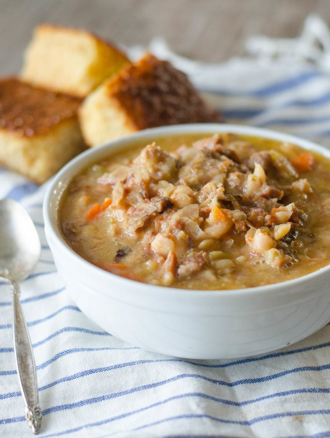 Ham and Bean Soup | Go Go Go Gourmet @gogogogourmet
