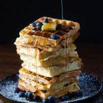 Crispy and light, these Belgian Waffles are the ultimate! Crispy Belgian Waffles | Go Go Go Gourmet @gogogogourmet