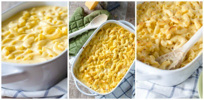 Perfectly creamy and totally addicting! Copycat Stouffer's Mac and Cheese | Go Go Go Gourmet @gogogogourmet