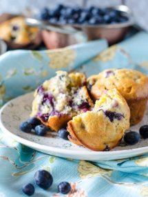 Blueberry Banana Muffins | Go Go Go Gourmet @gogogogourmet