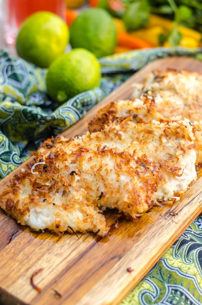 Coconut fried fish go go go gourmet for How to fry fish with egg and flour