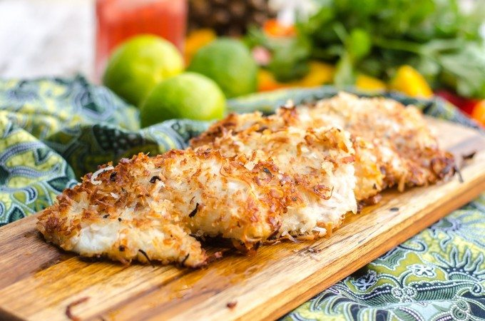 Coconut Fried Fish Go Go Go Gourmet