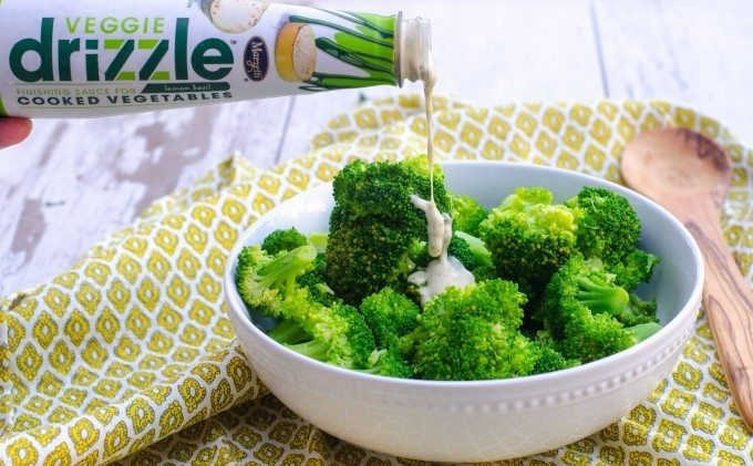 Marzetti® Veggie Drizzle™ Finishing Sauces- Up Your Side Dish Game!