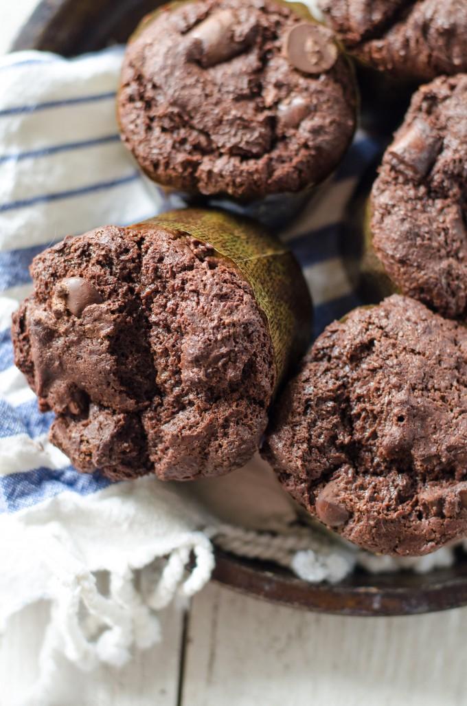 Nutella Triple Chocolate Muffins | Go Go Go Gourmet @gogogogourmet