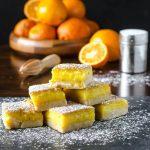 Orange Bars | Go Go Go Gourmet @gogogogourmet