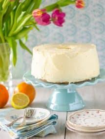 Orange Chiffon Cake | Go Go Go Gourmet @gogogogourmet