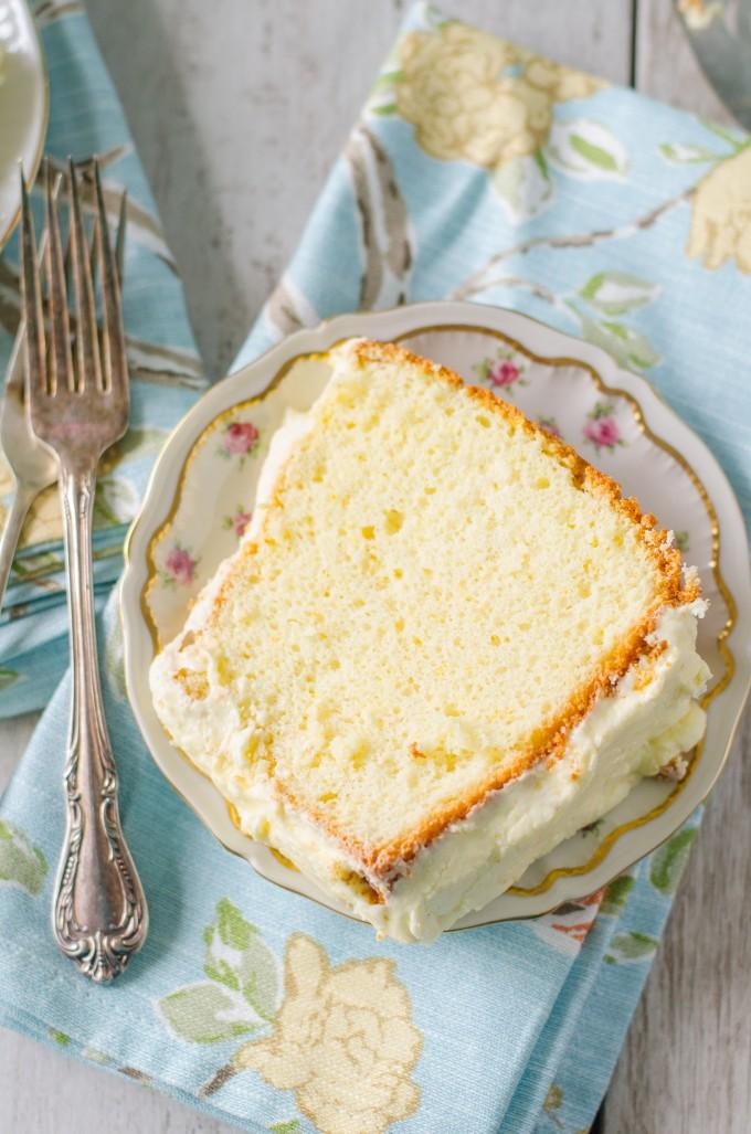 Orange Chiffon Cake   Go Go Go Gourmet @gogogogourmet