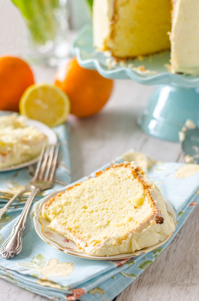 How To Make Orange Chiffon Cake Youtube