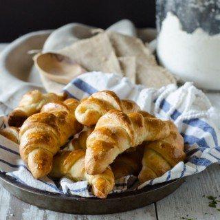 Homemade Crescent Rolls | Go Go Go Gourmet @gogogogourmet