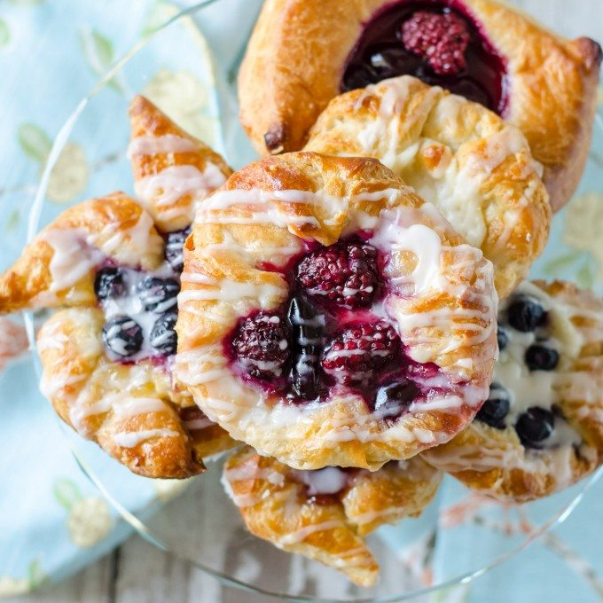 Flaky Danish Pastry Go Go Go Gourmet