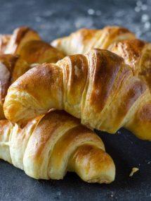 Flaky Butter Croissants   Go Go Go Gourmet @gogogogourmet