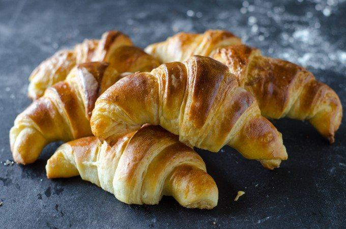 Flaky Butter Croissants Go Go Go Gourmet