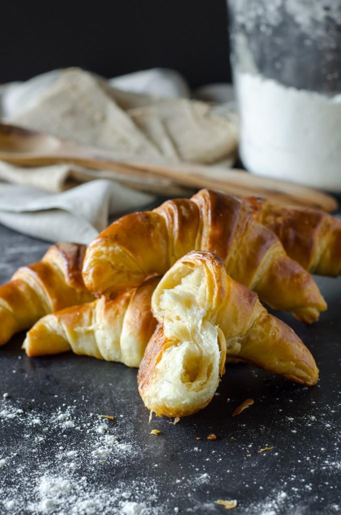Flaky Butter Croissants | Go Go Go Gourmet @gogogogourmet