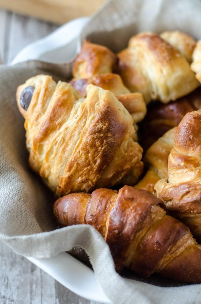 Ordinary Croissant Pain Au Chocolat #8: Pain Au Chocolat (Chocolate Croissants) | Go Go Go Gourmet @gogogogourmet