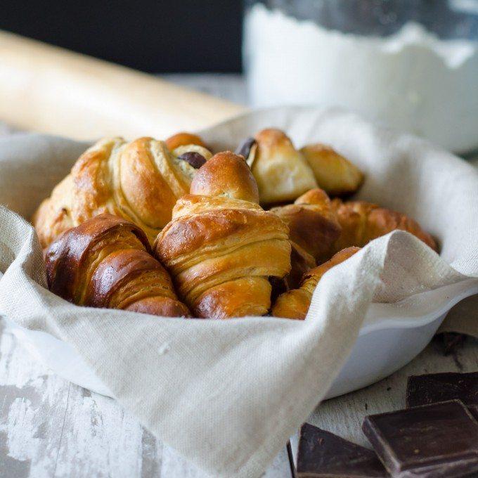 Chocolate Croissant Recipe | @gogogogourmet