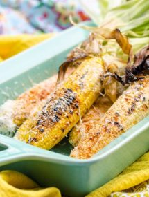 Mexican Grilled Corn (Elotes) | Go Go Go Gourmet @gogogogourmet