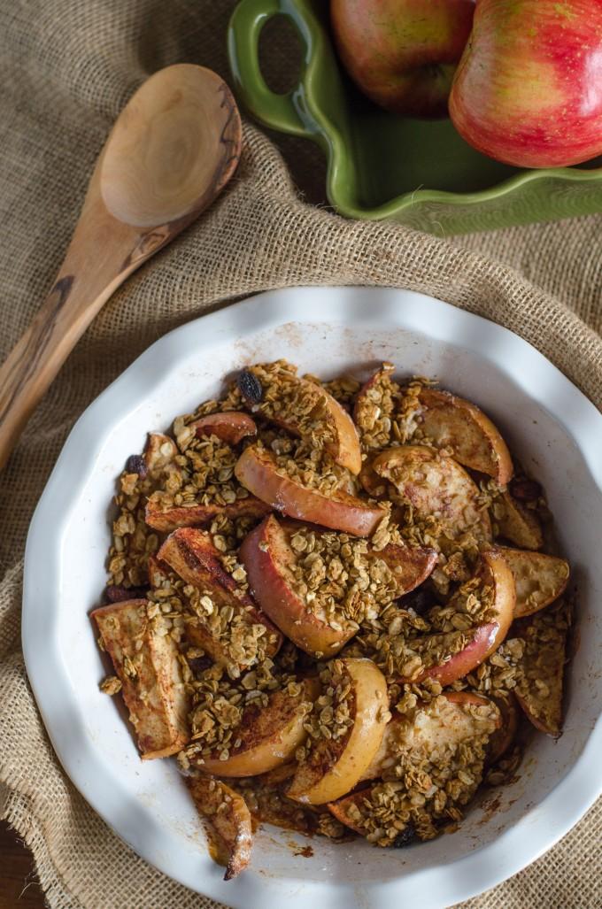 Oven Baked Apples with Granola | Go Go Go Gourmet @gogogogourmet