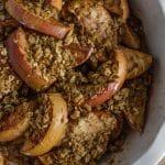 Oven Baked Apples with Granola   Go Go Go Gourmet @gogogogourmet