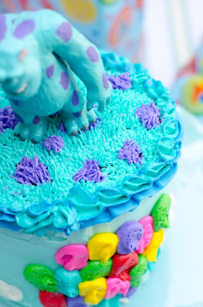 A Pixar Birthday Party- Cakes and Cupcakes | Go Go Go Gourmet @gogogogourmet