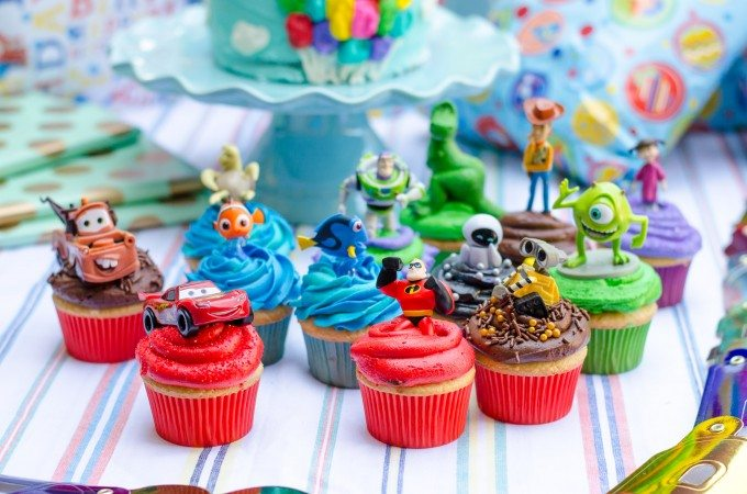 A Pixar Birthday Party- Cakes and Cupcakes | Go Go Go Gourmet @gogogogourmet
