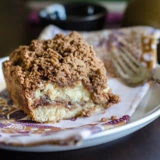 Cinnamon Coffee Cake with Streusel Crumb Topping | Go Go Go Gourmet @gogogogourmet