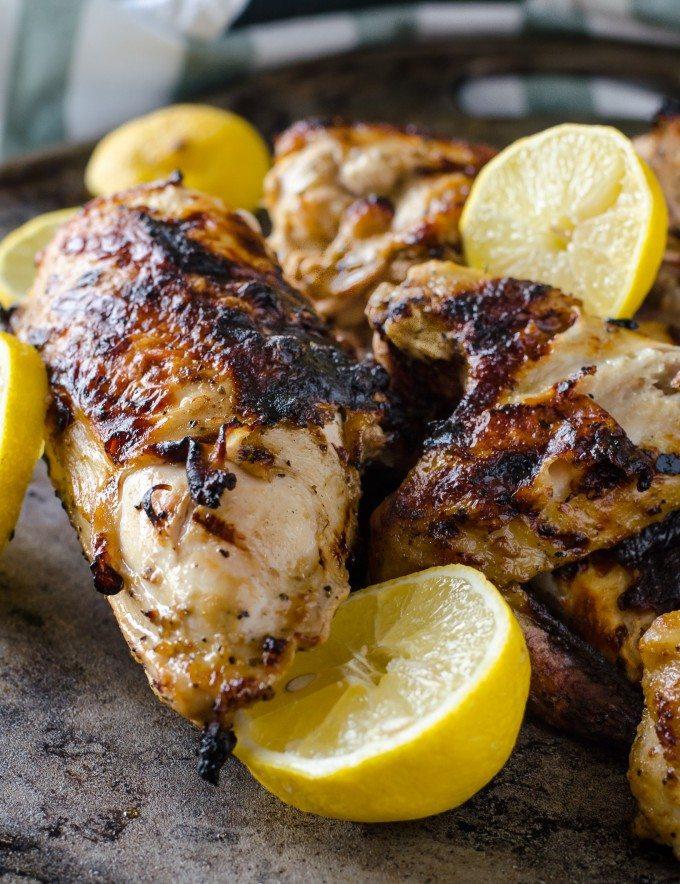 Grilled Lemon Pepper Chicken | Go Go Go Gourmet @gogogogourmet