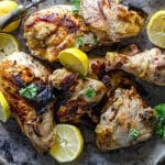 Grilled Lemon Pepper Chicken | Go Go Go Gourmet @gogogogourmet