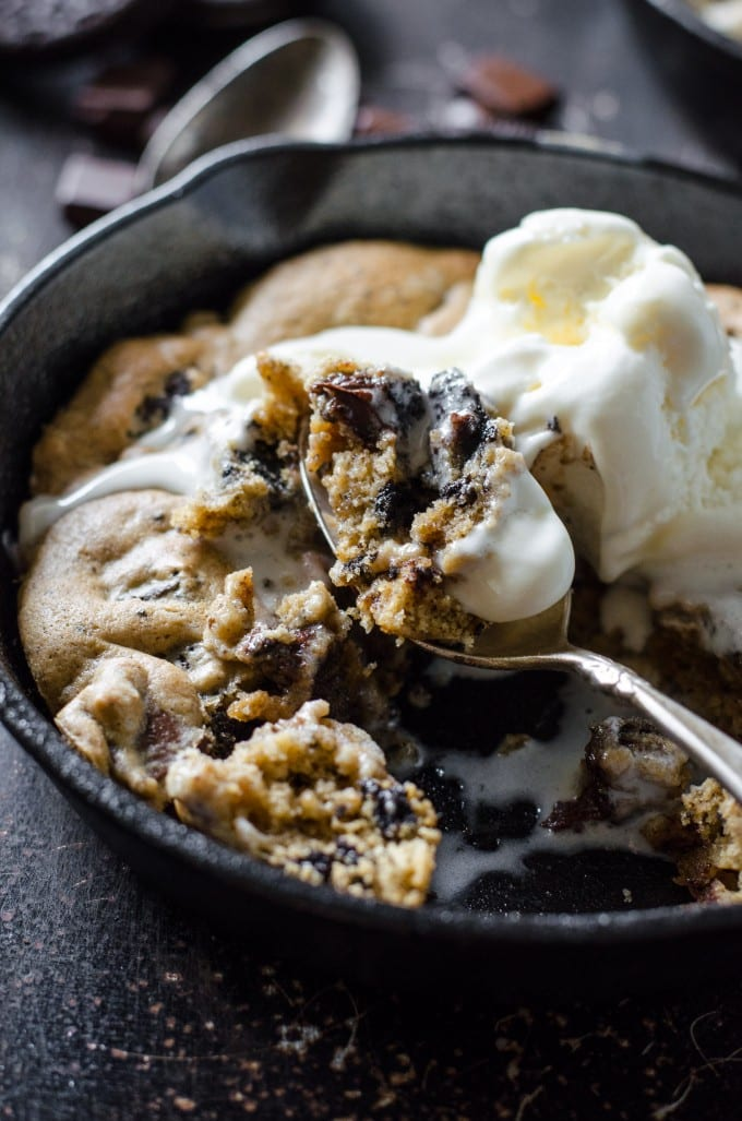 Oreo Chocolate Chip Skillet Cookie Go Go Go Gourmet