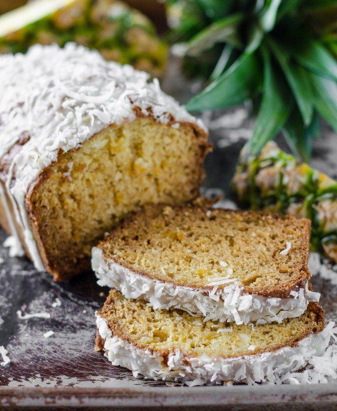 Pina Colada Bread   Go Go Go Gourmet @gogogogourmet