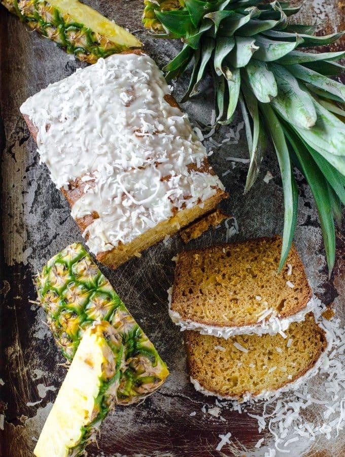 Pina Colada Bread | Go Go Go Gourmet @gogogogourmet