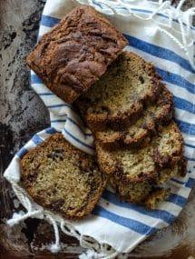Nutella Banana Bread | Go Go Go Gourmet @gogogogourmet