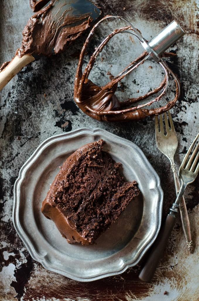 Easy Gooey Chocolate Fudge Cake