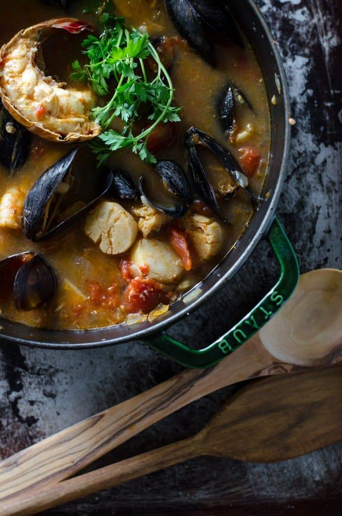 Cioppino Seafood Stew | Go Go Go Gourmet @gogogogourmet