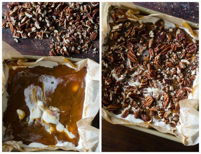 Turtle Ice Cream Bars |Go Go Go Gourmet @gogogogourmet
